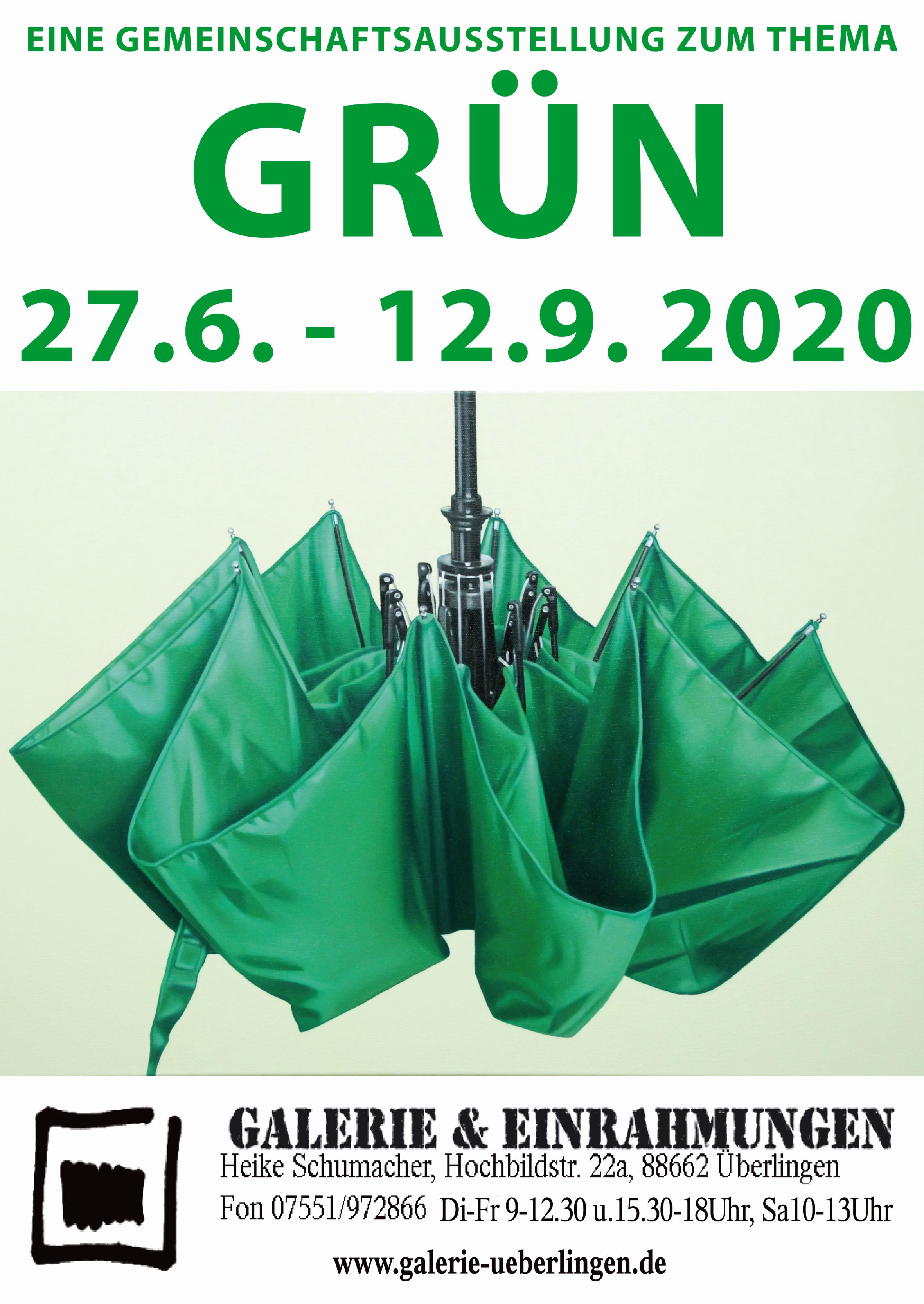 Plakat GRÜN Part II