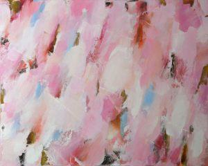 das kirschblütenfest | 100 x 80cm | 2018