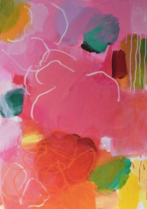 Blumenwiese 1 | Acryl auf Leinwand | 50 x 70cm | 2019