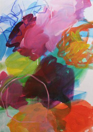 Blumenwiese 2 | Acryl auf Leinwand | 50 x 70cm | 2019