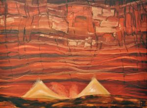 canyon song   80 x 60cm   2011