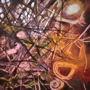 die winter im süden | 80 x 80cm | 2011