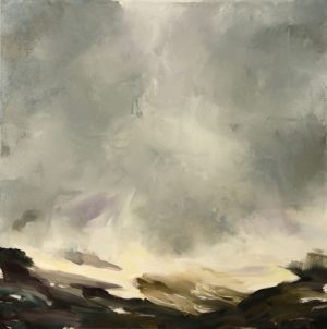 der fallende himmel | 100 x 100cm | 2017